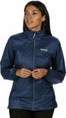 Regatta - Women's Corinne IV Lightweight Waterproof Walking Jacket - Jas - Vrouwen - Maat 46 - Blauw