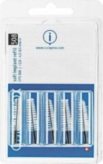 Curaprox - Soft Implant Cps 508 (Black 5 Pcs) - Replacement Interdental Brushes For Cleaning Implants