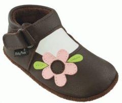 Bruine Baby Paws babyslofjes Holly Chocolade maat 6 = ( 14,5 cm)
