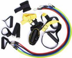 Rode KIMO DIRECT Suspension Trainer + Resistance Bands Set - Full Body Workout - Weerstandsbanden - Crossfit - Complete Combi Set