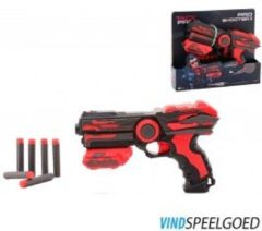 Tack Pro shooter JohnToy Crow II - 23 cm met 6 pijlen - Speelgoedwapen Johntoy