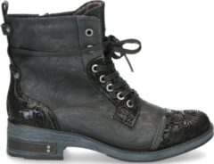 Zwarte Boots en enkellaarsjes Lola by Mustang shoes