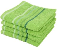 SEASTAR Handtuch 4er-Set grün 50x100cm