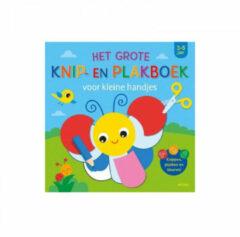 Ons Magazijn Het grote knip- en plakboek voor kleine handjes (3-5 j.)