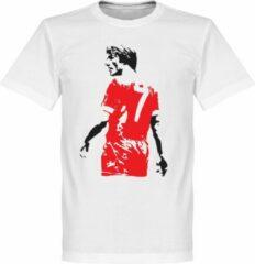 Retake Kenny Dalglish Graffiti T-Shirt - Wit - XL