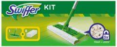Groene Swiffer Vloerreiniger - 1 Vloerwisser Met 8 Navul Stofdoekjes - Starterkit