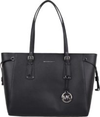 Michael Kors Voyager Medium Top Zip Tote Handtassen Zwart