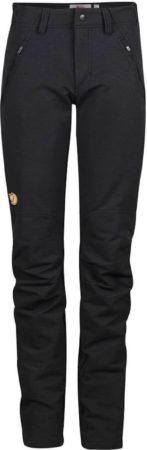 Afbeelding van Fjällräven - Women's Oulu Trousers - Trekkingbroeken maat 44 - Regular - Raw Length, zwart