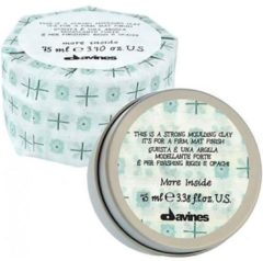DAVINES MORE INSIDE EXTREME LOOKS THIS IS A STRONG MOULDING CLAY KLEI REF.87068 - HOLD 4 75ML