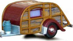 Caravan Bruin/Rood 1:43 Cararama