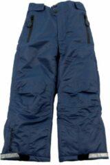 Donkerblauwe Ducksday skibroek voor kinderen unisex Blauw