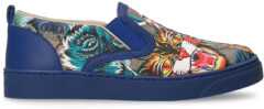 Blue Slip-on Gucci Junior