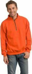 Gildan Oranje sweatshirt voor volwassenen L