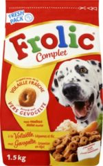 Frolic Compleet Adult Gevogelte - Honden droogvoer - 5 x 1,5 kg
