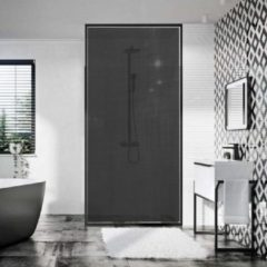 Pixia Raamfolie - Veilish - Zelfklevende Vitrage Zwart 137 cm x 1 m