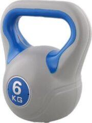 Blauwe Kaytan Kettlebell 6 kg - Fitness - Krachttraining - Halters en Gewichten