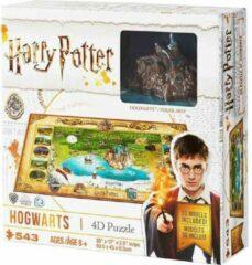 4D Cityscape Inc 4D Mini Harry Potter Puzzel Hogwarts (543 stukjes)