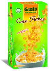 Giusto Senza Glutine Cornflakes Petali di Mais 250 g