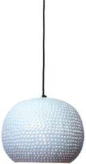 Witte Hanglamp Spike bol Ø27cm glossy white - Urban Interiors