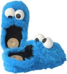 Sesame Street Cookie Monster Pantofole blu royal