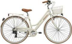 28 Zoll Damen City Fahrrad 6 Gang Adriatica Retro Adriatica creme