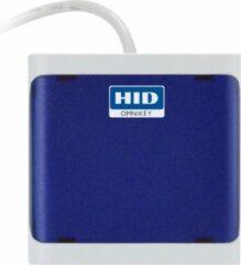 Blauwe HID Global Omnikey 5027 Mifare/DESFire keyboard wedge reader