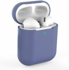 Able & Borret Airpod case | Hoesje | Antislip | Anti shock | Blauw | AirPods