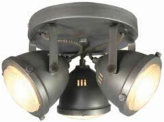 LABEL51 - LED Spot Moto 3-Lichts 29,7x29,7x16,3 cm Zwart Metaal