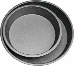 Grijze Klaus Ronde bakvorm -Set van 2- Ø 29 cm / 23cm