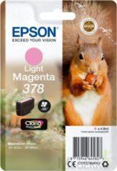 Epson Singlepack Light Magenta 378 Claria Photo HD Ink 4.8ml Lichtmagenta 360pagina's inktcartridge