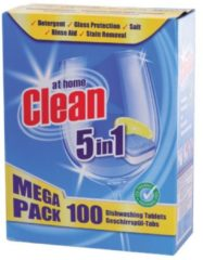 At Home Clean Vaatwastabletten 5 in 1 - 100 tabletten