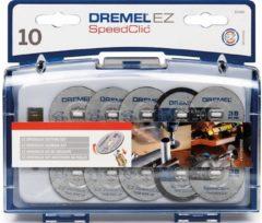 Dremel S690JA SpeedClic Schneideset 11-Stück für Multifunktionswerkzeug 2615S690JA