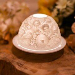 Witte Spiru Sfeerlicht Porselein Engelenliefde
