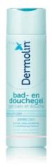 Dermolin Bad en douchegel CAPB vrij 200 Milliliter