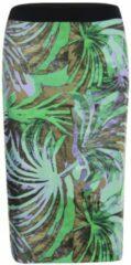 Groene Roberto Sarto Rokje met print