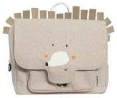 Beige Trixi Baby Kleuterboekentasje / Schooltasje Mrs. Hedgehog | Trixie Baby