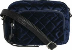 Blauwe Pieces Maat null Dames Crossbodytas Maritime Blue