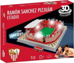 Rode Non-License Puzzel Sevilla LED: Ramon Sanchez Pizjuan 98 stukjes