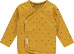 Gele Noppies U Tee Overlap Taylor - Honey Yellow - Maat 50