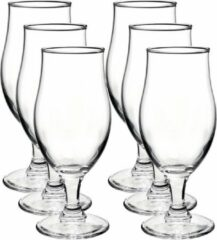Bormioli Rocco 12x Speciaal bierglazen/tulpglazen transparant 375 ml Executive - Bierglas