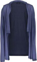 Blue Seven dames vest blauw lang - maat M