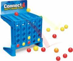 Jollity Works JollyPlay - Vier op een rij - Gooi vier op en rij - 4 op een rij - Gooien - Spel - Stuiteren - Connect 4 shots bordspel