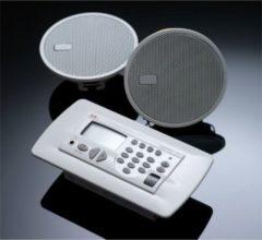 KBSound Eissound Premium Einbauradio mit DAB+, RDS,Wochentimer Farbe: Weiß