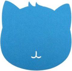 Merkloos / Sans marque Muismat kat (blauw)