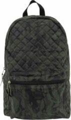 Urban Classics Rugtas Diomond Quilt Leather Imitation Zwart