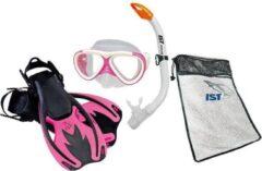 Roze IST Snorkelset voor Kinderen (maat 34-38)