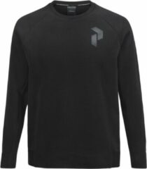 Zwarte Peak Performance - Tech Crew Neck - Heren - maat S