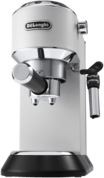 DeLonghi Dedica Style EC 685.W Vrijstaand Half automatisch Espressomachine 1.1l Zwart, Zilver, Wit