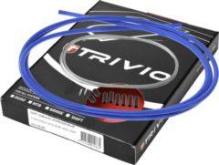 Trivio Kabelkit compleet derailleur rvs - blauw