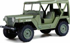 Groene Amewi Legervoertuig U.S. Army Jeep M151 1:14